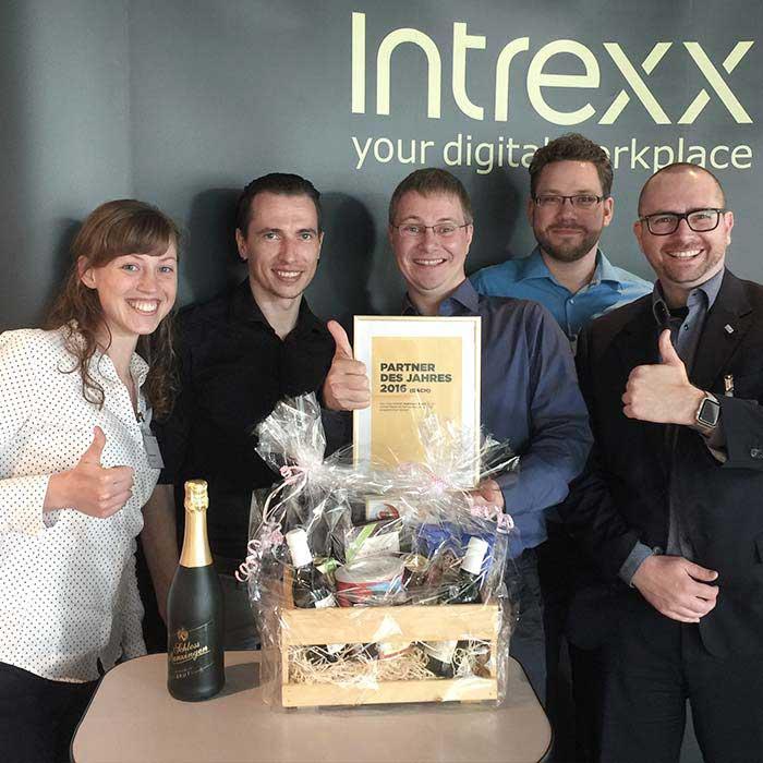 Intrexx Partner des Jahres 2016