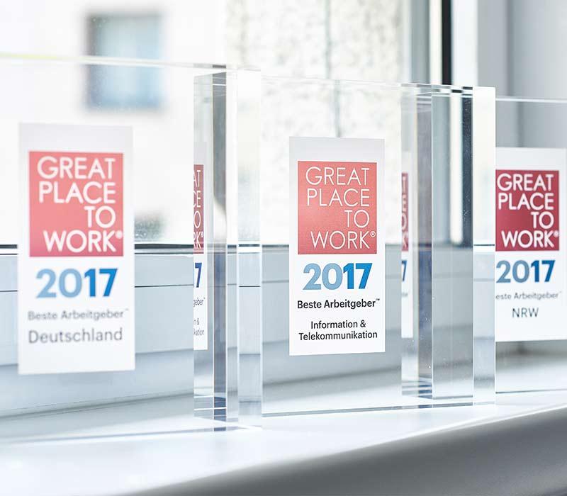 Auszeichnung Great Place To Work 2017