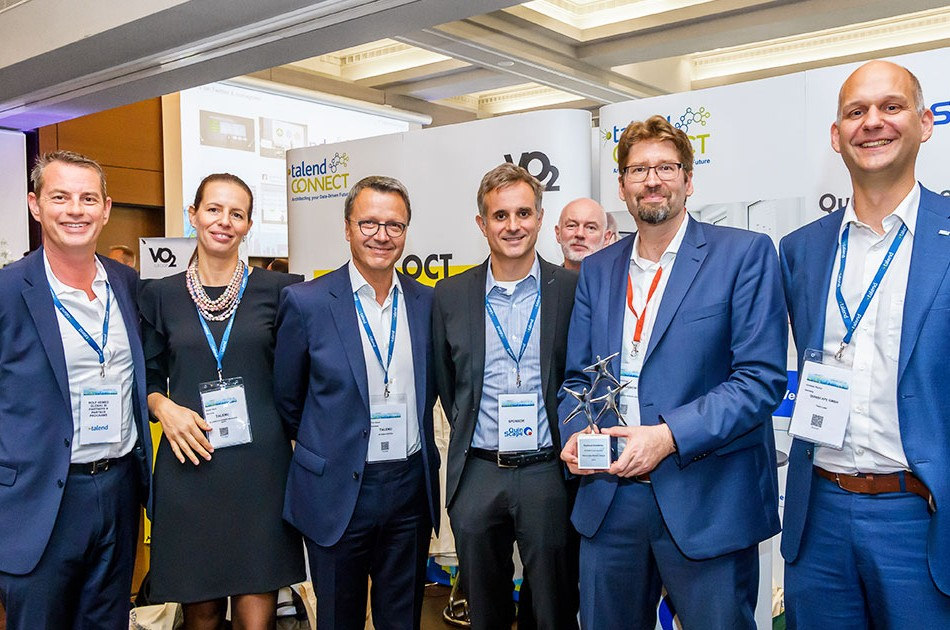 Gewinner Talend Data Masters Award - Geschnitten