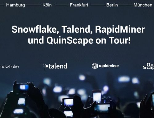 Cloud Business Intelligence: QuinScape-Roadshow mit Talend, Snowflake und RapidMiner